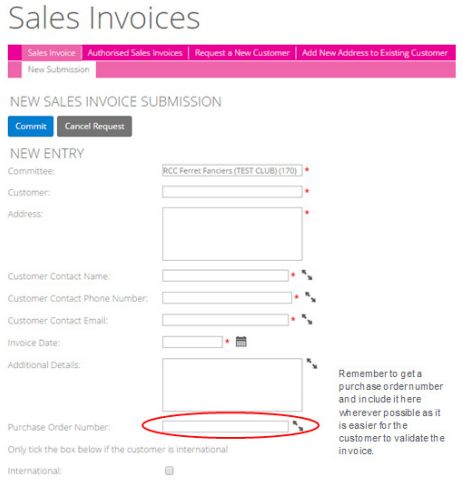 what are sales invoices